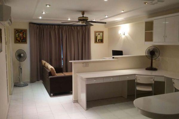For Sale SoHo/Studio at Endah Ria, Sri Petaling Leasehold Semi Furnished 0R/1B 300k