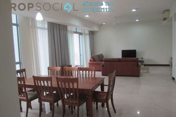 For Rent Condominium at Hampshire Residences, KLCC Freehold Fully Furnished 3R/5B 9k