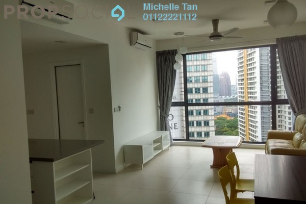 For Rent Condominium at Three28 Tun Razak, KLCC Freehold Fully Furnished 2R/2B 4.2k