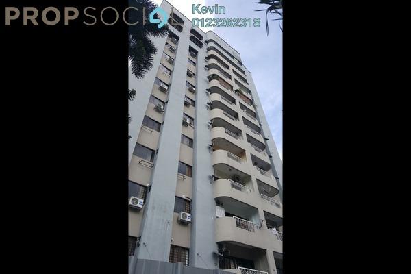 For Rent Apartment at Sri Bangsar Apartment, Bangsar Freehold Semi Furnished 2R/2B 2.5k