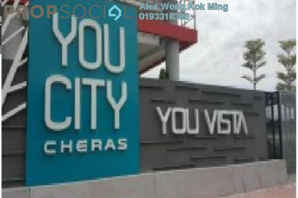For Rent Condominium at You Vista @ You City, Batu 9 Cheras Freehold Semi Furnished 2R/1B 1.6k