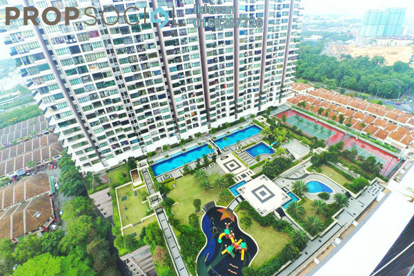 For Sale Condominium at One Damansara, Damansara Damai Leasehold Semi Furnished 3R/2B 580.0千