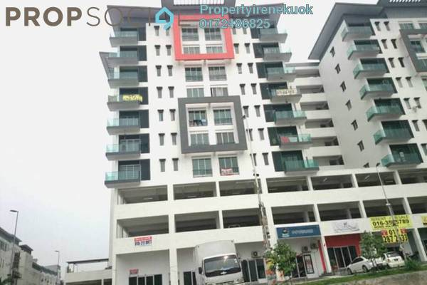 For Rent Apartment at Mahkota Residence, Bandar Mahkota Cheras Freehold Semi Furnished 3R/2B 1.5k