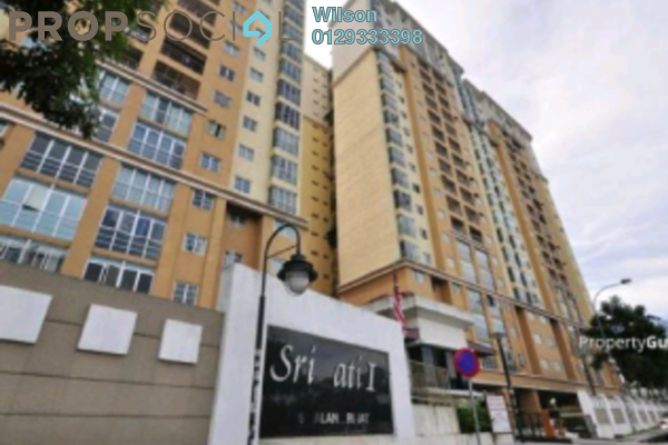 For Rent Condominium at Sri Jati I, Old Klang Road Freehold Semi Furnished 3R/2B 1.3k