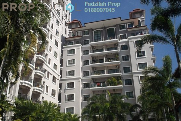 For Sale Duplex at Hartamas Regency 1, Dutamas Freehold Semi Furnished 3R/4B 1.65m