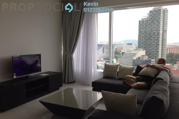 For Rent Condominium at Verticas Residensi, Bukit Ceylon Freehold Fully Furnished 2R/2B 6k