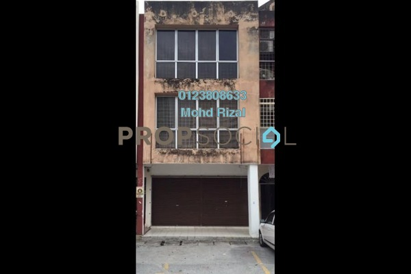 For Rent Shop at Pandan Indah, Pandan Indah Leasehold Unfurnished 0R/0B 3.5k