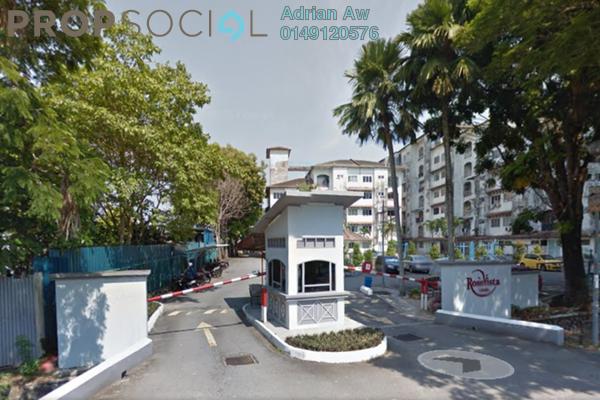 For Rent Condominium at Rose Vista, Ampang Leasehold Semi Furnished 3R/2B 1.35k