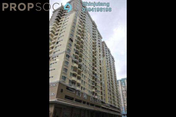 For Rent Condominium at Sri Kristal , Farlim Leasehold Semi Furnished 3R/2B 1.2k