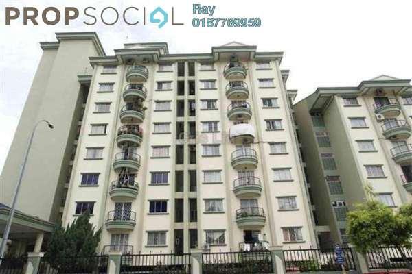 For Rent Condominium at Bukit Awansari, Old Klang Road Freehold Semi Furnished 3R/2B 1.55k