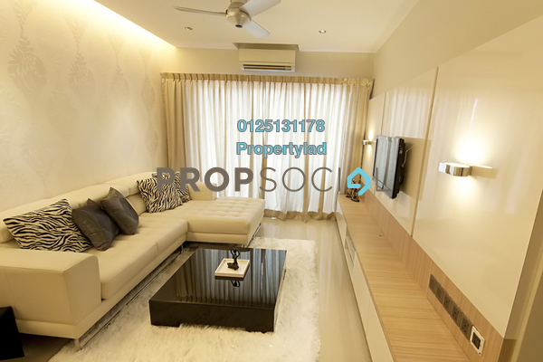 For Sale Condominium at Kuchai Avenue, Kuchai Lama Freehold Semi Furnished 3R/2B 500k