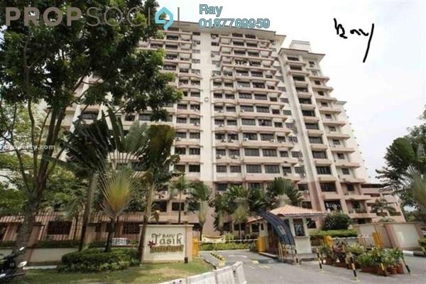 For Rent Condominium at Bayu Tasik 1, Bandar Sri Permaisuri Leasehold Semi Furnished 3R/2B 1.6k