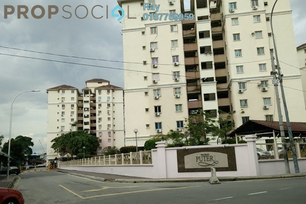 For Rent Condominium at Pandan Puteri, Pandan Indah Leasehold Semi Furnished 3R/2B 1.6k