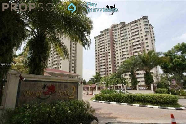 For Rent Condominium at Bayu Tasik 2, Bandar Sri Permaisuri Leasehold Fully Furnished 3R/2B 1.6k