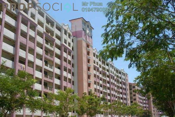 For Rent Condominium at Vistaria Condominium, Sungai Ara Freehold Semi Furnished 3R/2B 1.2k