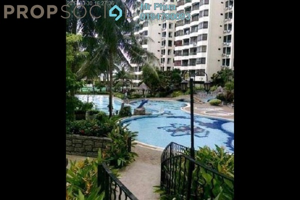 For Rent Apartment at Sunny Ville, Batu Uban Freehold Fully Furnished 3R/2B 1.5k