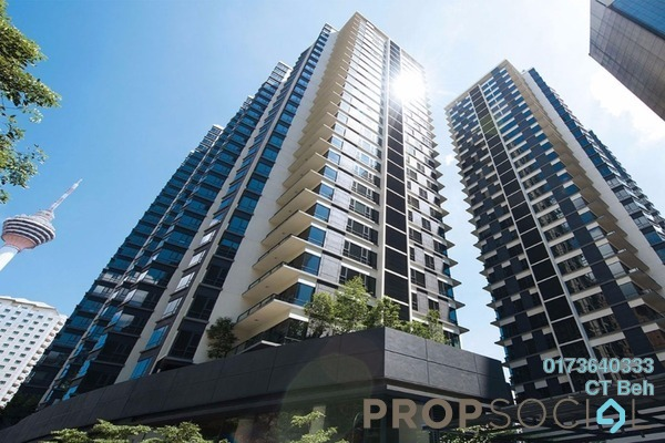 For Sale Condominium at St Mary Residences, KLCC Freehold Semi Furnished 2R/3B 2.58m