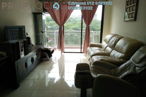 For Sale Condominium at Casa Indah 1, Tropicana Leasehold Fully Furnished 3R/2B 620k