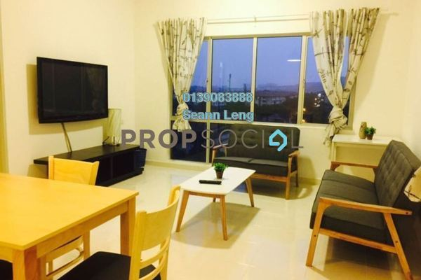 For Rent Serviced Residence at I Residence, Kota Damansara Freehold Fully Furnished 3R/2B 2.3k