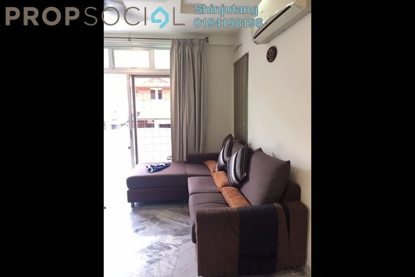 For Rent Apartment at Mutiara Court, Gelugor Freehold Fully Furnished 3R/2B 1.5k