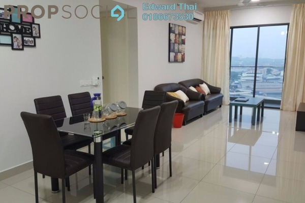 For Rent Condominium at Univ 360 Place, Seri Kembangan Leasehold Fully Furnished 2R/2B 1.75k