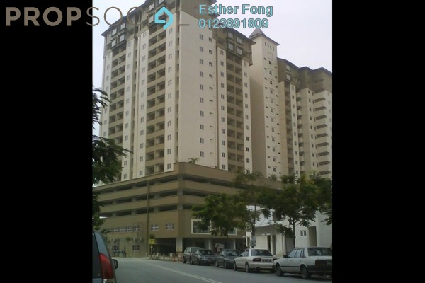 For Rent Apartment at Vista Mutiara, Kepong Leasehold Semi Furnished 3R/2B 1.25k