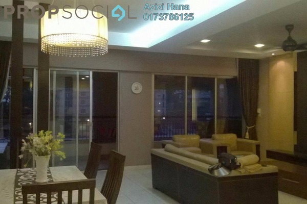 For Rent Condominium at Seri Maya, Setiawangsa Freehold Fully Furnished 4R/2B 3k