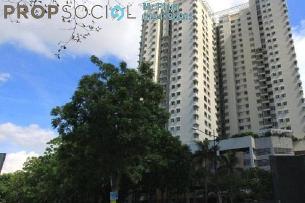 For Rent Condominium at Parkview Towers, Bukit Jambul Leasehold Fully Furnished 3R/2B 1.5k