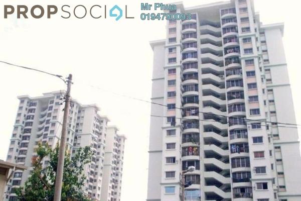 For Rent Apartment at Taman Kristal, Tanjung Tokong Freehold Semi Furnished 3R/2B 1.15k