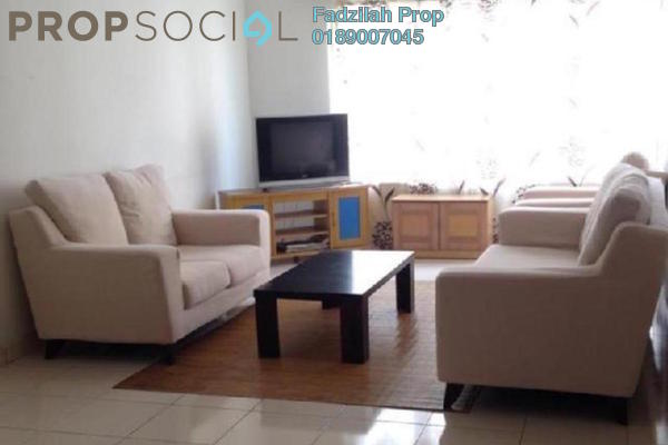 For Rent Condominium at Melur Apartment, Sentul Leasehold Fully Furnished 3R/2B 1.7k