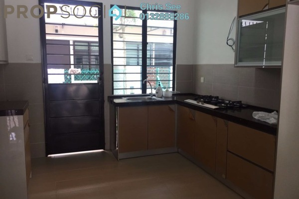 For Rent Terrace at Ken Rimba, Shah Alam Freehold Semi Furnished 4R/3B 1.6k
