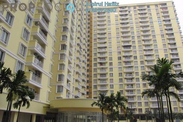 For Sale Condominium at Platinum Lake PV12, Setapak Leasehold Unfurnished 3R/2B 480k