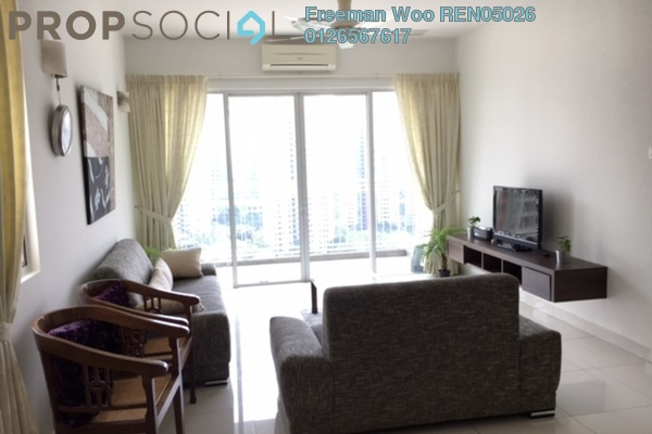 For Rent Condominium at Ceriaan Kiara, Mont Kiara Freehold Fully Furnished 3R/3B 4k