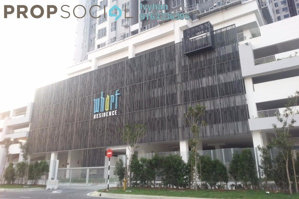 For Rent Serviced Residence at The Wharf, Puchong Leasehold Semi Furnished 2R/2B 1.3k