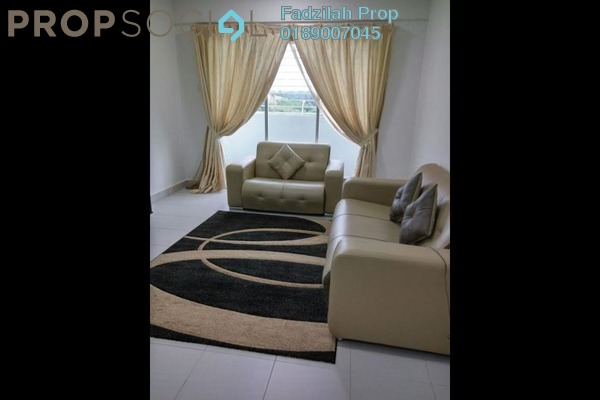 For Rent Condominium at South Bayu Residences, Putra Nilai Freehold Fully Furnished 3R/2B 1.5k