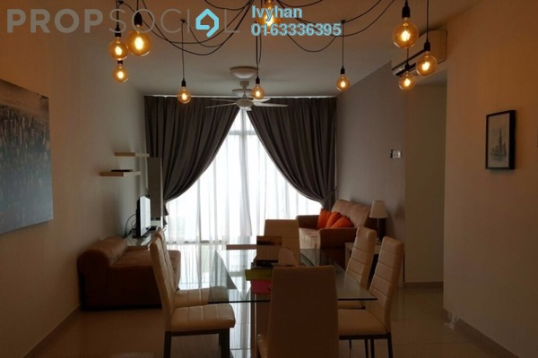 For Rent Condominium at Midfields, Sungai Besi Leasehold Fully Furnished 3R/2B 2k