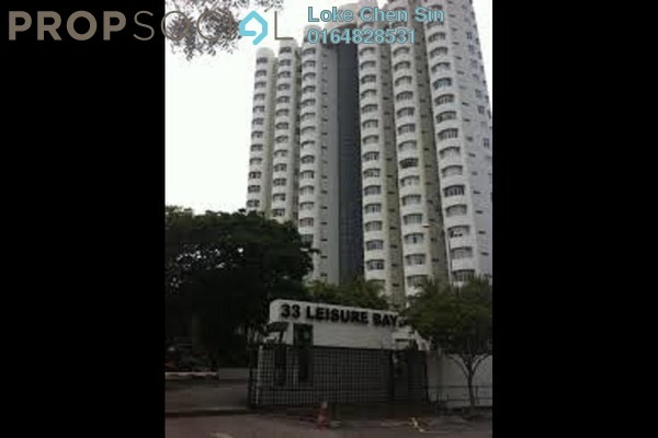 For Rent Condominium at Leisure Bay, Tanjung Tokong Freehold Fully Furnished 3R/2B 2.3k