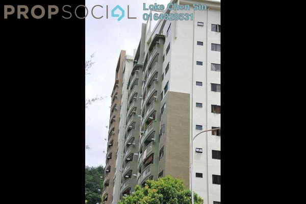 For Rent Apartment at Lakeside Tower, Bukit Jambul Leasehold Fully Furnished 3R/2B 1.2k