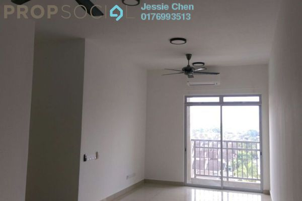 For Rent Serviced Residence at Kalista Residence, Seremban 2 Freehold Semi Furnished 3R/2B 1.3k