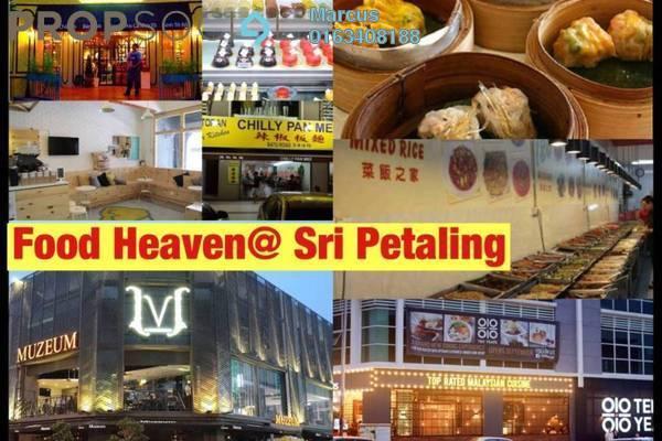 For Sale Condominium at Pinnacle, Sri Petaling Freehold Semi Furnished 2R/2B 470k