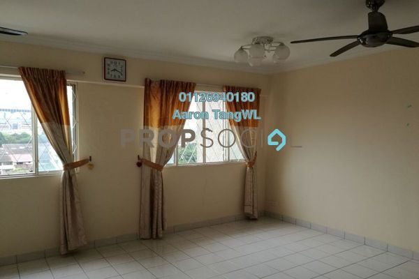 For Sale Condominium at Puncak Damansara, Bandar Utama Leasehold Semi Furnished 3R/2B 525k