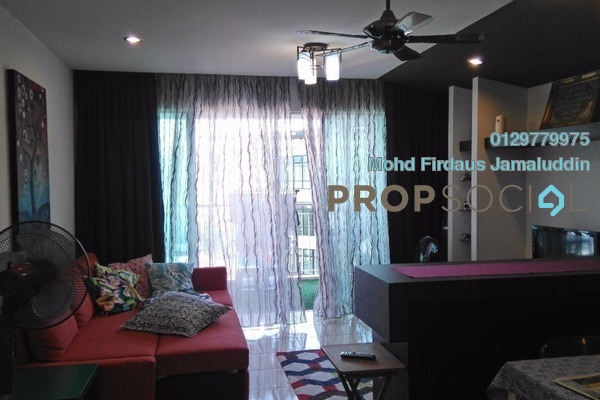 For Sale Condominium at Riana Green East, Wangsa Maju Leasehold Semi Furnished 4R/3B 880k