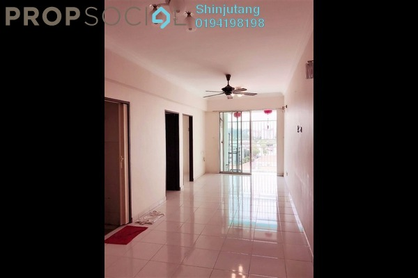For Rent Apartment at Damai Vista, Green Lane Freehold Semi Furnished 3R/2B 850translationmissing:en.pricing.unit