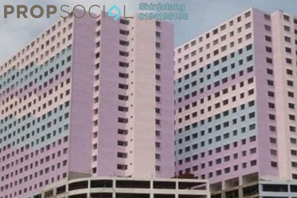 For Rent Apartment at Puncak Erskine, Tanjung Tokong Freehold Semi Furnished 3R/1B 600translationmissing:en.pricing.unit