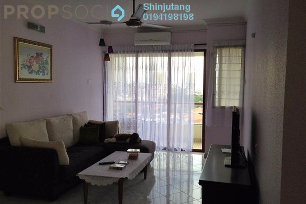 For Rent Condominium at Marina Bay, Tanjung Tokong Leasehold Fully Furnished 3R/2B 2.5k