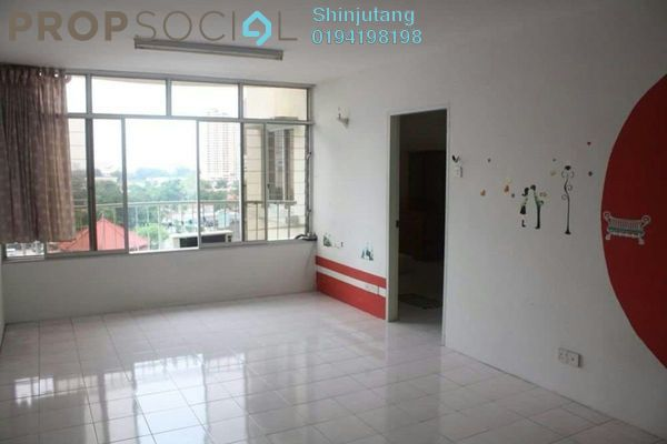 For Rent Apartment at Taman Kristal, Tanjung Tokong Freehold Semi Furnished 3R/2B 1.1k