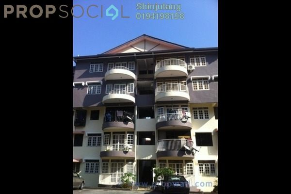 For Sale Apartment at Mutiara Perdana 1, Sungai Ara Freehold Fully Furnished 3R/2B 430k