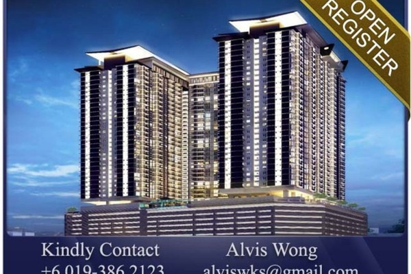 For Sale Condominium at Pinnacle, Sri Petaling Freehold Semi Furnished 2R/2B 485k