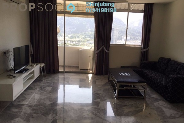 For Rent Townhouse at Pearl Hill Villa, Tanjung Bungah Freehold Fully Furnished 2R/2B 1.25k