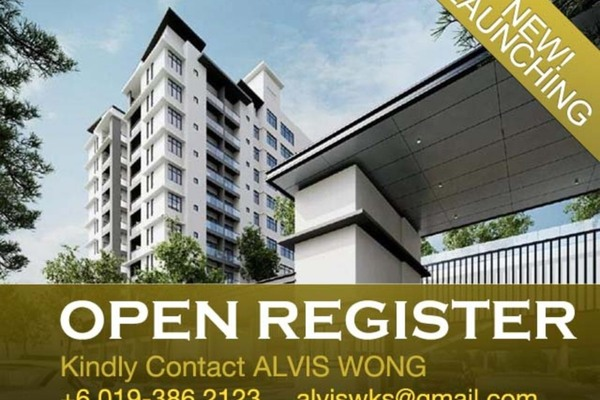 For Sale Condominium at Lavender Residence, Bandar Sungai Long Freehold Unfurnished 3R/2B 527k